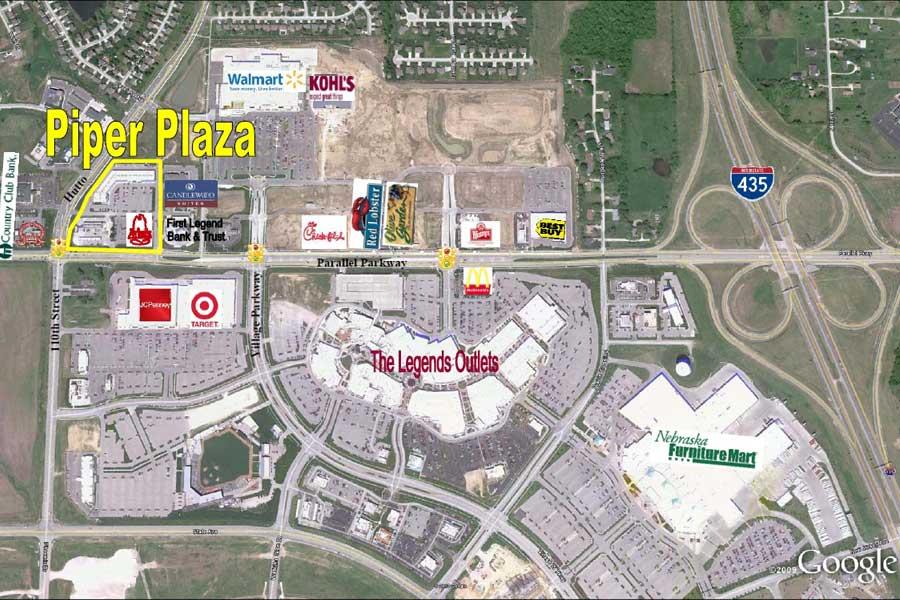 Piper Plaza Aerial