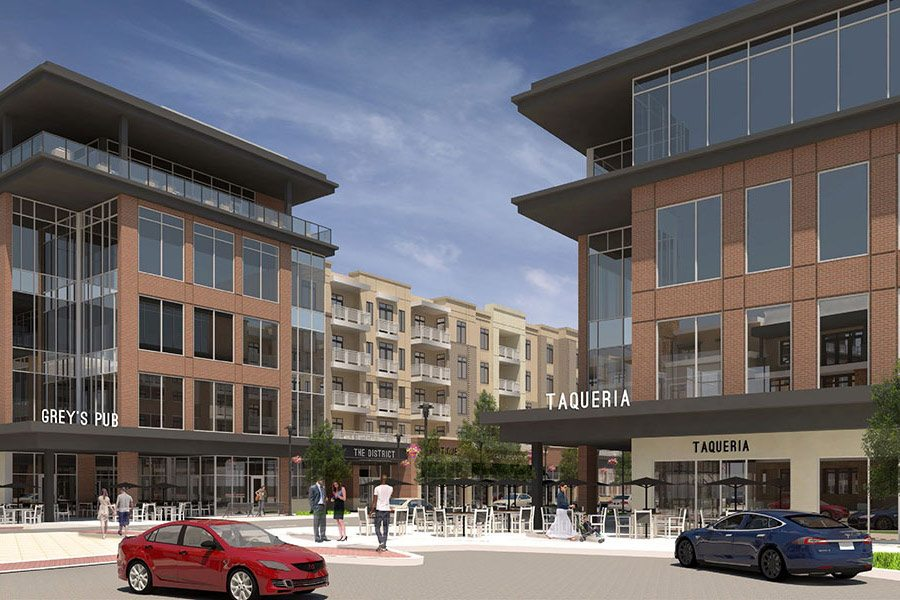 City Center Lenexa - The District