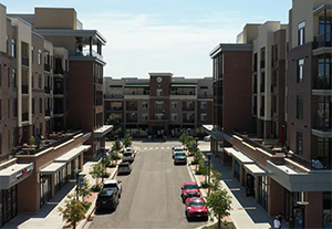 Lenexa City Center construction management Copaken Brooks