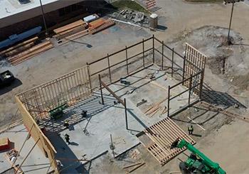 Wendy's construction management Copaken Brooks